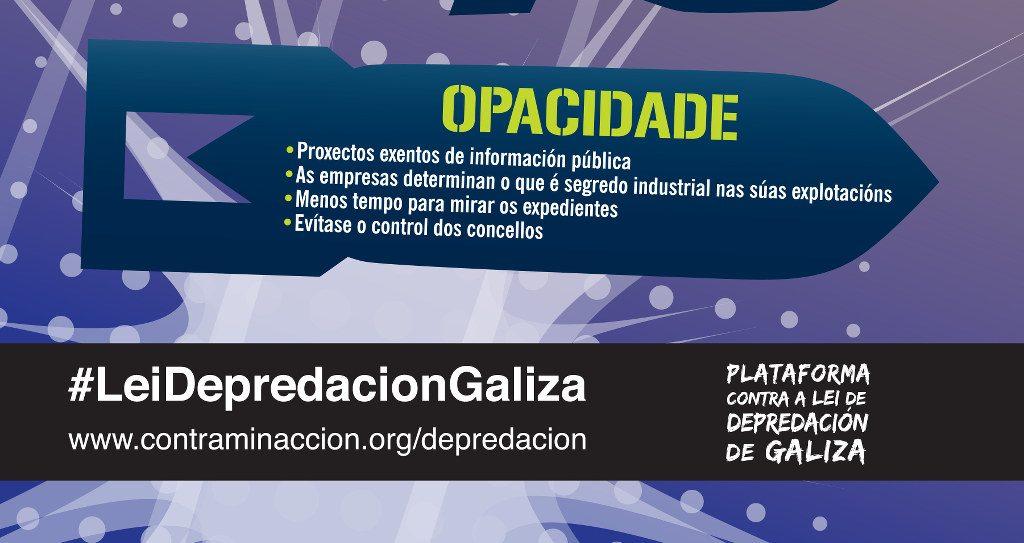 #LFIIEocultaInformacion #LeiDepredacionGaliza